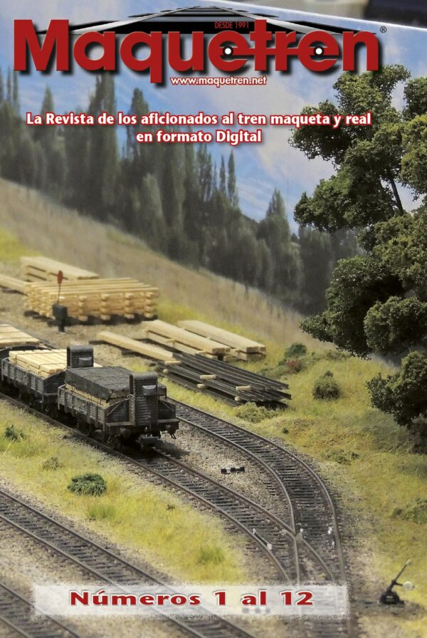Revistas nº 01 al 12 en DVD