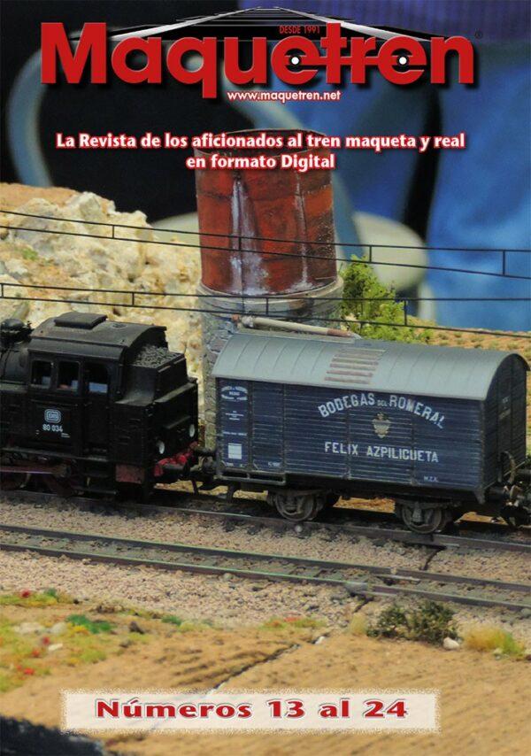Revistas nº 013 al 24 en DVD