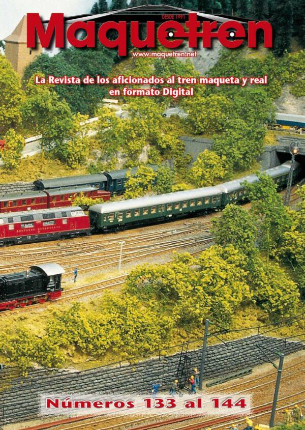 Revistas nº 133 al 144 en DVD