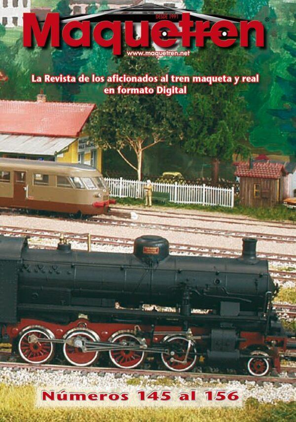 Revistas nº 145 al 156 en DVD