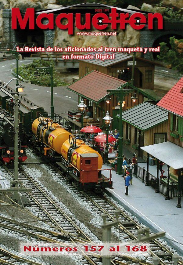 Revistas nº 157 al 168 en DVD