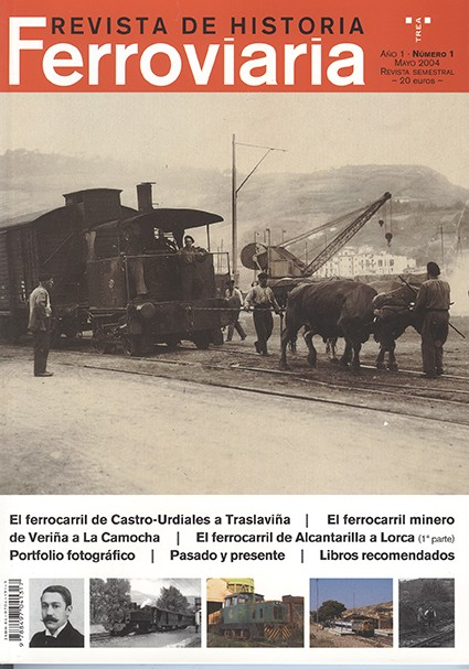 Historia Ferroviaria núm. 1 Mayo 2004