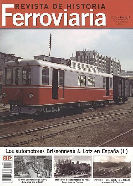 Historia Ferroviaria núm. 12 Diciembre 2009