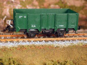 Vagón metálico ATF bordes altos unificado, serie X-185001/193128
