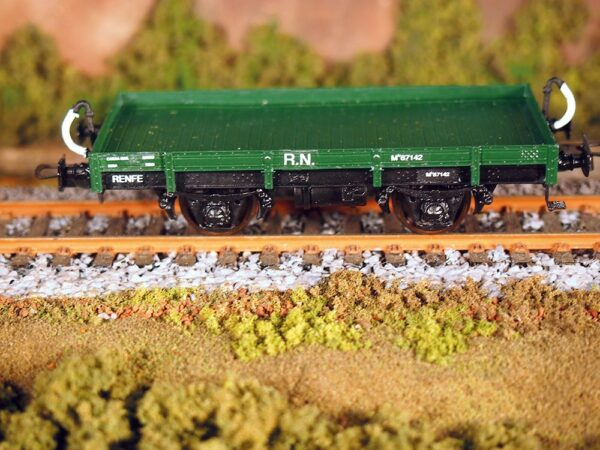 Vagón metálico ATF plataforma unificado, serie M-65000/69000