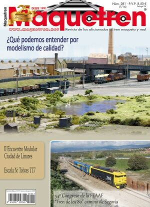 Revista Maquetren nº. 281