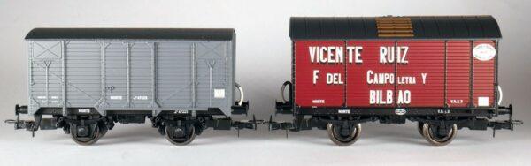 Dos vagones escala H0