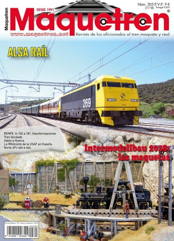 Revista Maquetren Nº 305