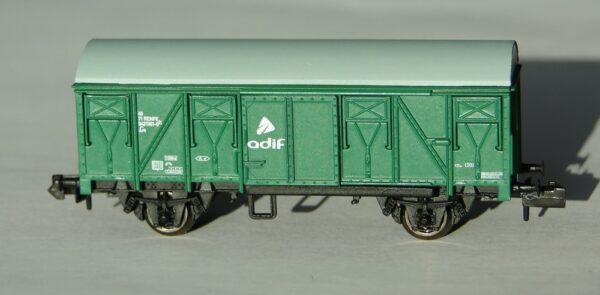 Vagón J Arnold verde - Escala N